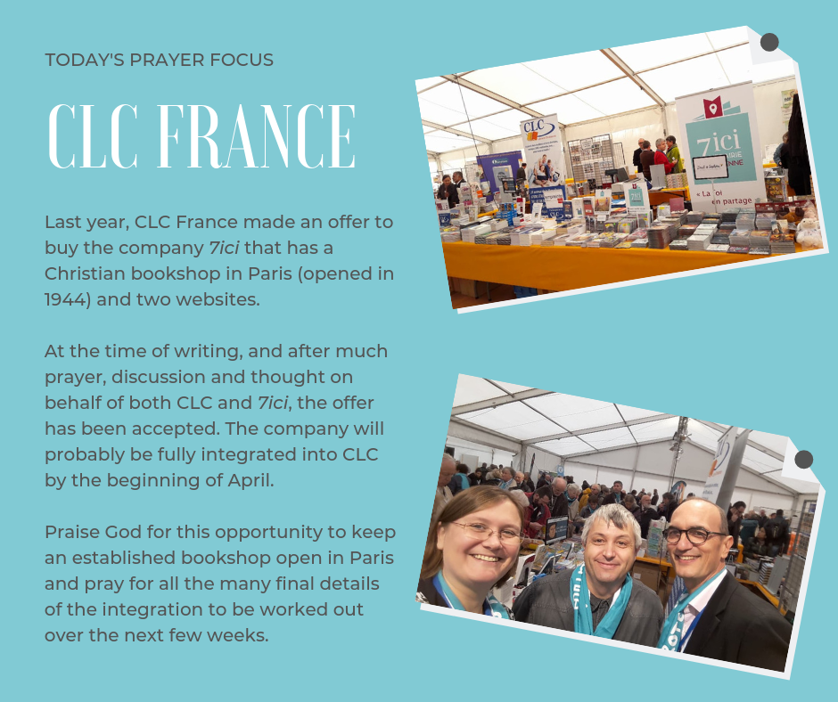 Prayer Focus for France (March 4th, 2019)