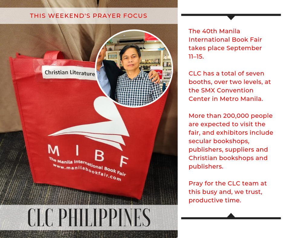 Pray for CLC Philippines (September 7-8, 2019)