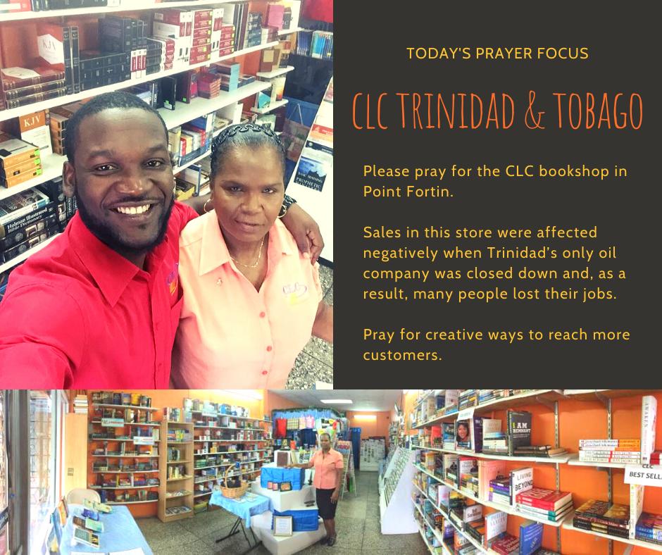 Friday (February 14) Prayer Focus for CLC Trinidad & Tobago