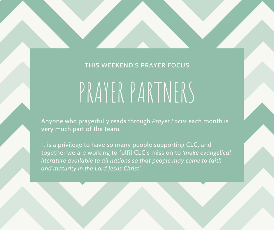 Weekend (February 29 - March 1) Prayer Focus for Prayer Partners