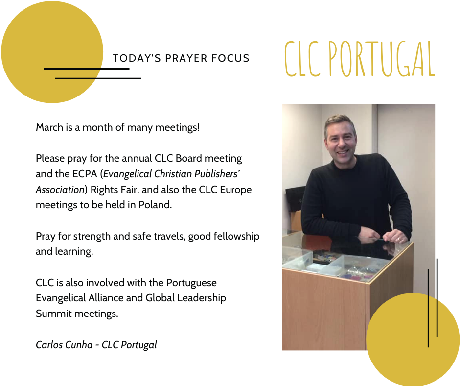 March 2nd Prayer Focus for Portugal